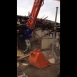 【解体動画 富山】木造住宅の解体工事・解体仕様重機作業(富山市)