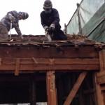 【解体動画 富山】木造住宅の二階部分手壊し解体工事(富山市)