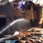 富山市月岡地内で木造平屋建ての空き家を解体致しました。